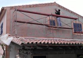Toni Revilo. Estucado paredes exteriores, Mallorca