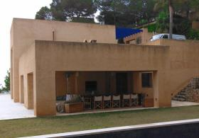Toni Revilo Exterior paintings facades, Mallorca